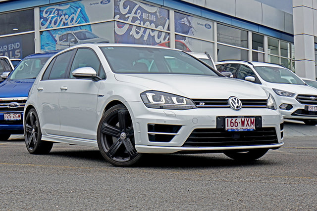 Used Volkswagen Golf VII MY17 R DSG 4MOTION, 2016 Volkswagen Golf VII MY17 R DSG 4MOTION White 6 Speed Sports Automatic Dual Clutch Hatchback
