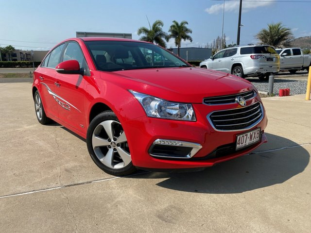 Used Holden Cruze JH Series II MY16 Z-Series, 2016 Holden Cruze JH Series II MY16 Z-Series Red Hot 6 Speed Sports Automatic Sedan