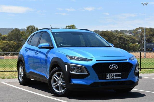 Used Hyundai Kona OS MY18 Active 2WD, 2017 Hyundai Kona OS MY18 Active 2WD Blue Lagoon 6 Speed Sports Automatic Wagon