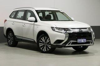 2018 Mitsubishi Outlander ZL MY19 ES 7 Seat (AWD) Starlight Continuous Variable Wagon.