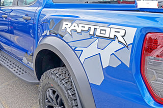 2019 Ford Ranger PX MkIII 2019.75MY Raptor Pick-up Double Cab Blue 10 Speed Sports Automatic Utility