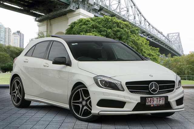 Used Mercedes-Benz A-Class W176 A180 D-CT, 2014 Mercedes-Benz A-Class W176 A180 D-CT White 7 Speed Sports Automatic Dual Clutch Hatchback