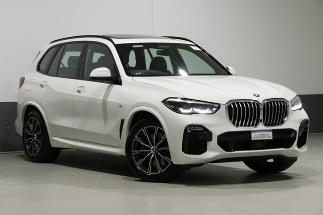 Used BMW X5 G05 MY19 xDrive 30d M Sport (5 Seat), 2019 BMW X5 G05 MY19 xDrive 30d M Sport (5 Seat) White 8 Speed Auto Dual Clutch Wagon