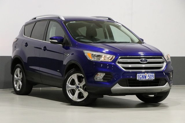 Used Ford Escape ZG Trend (AWD), 2017 Ford Escape ZG Trend (AWD) Blue 6 Speed Automatic Wagon