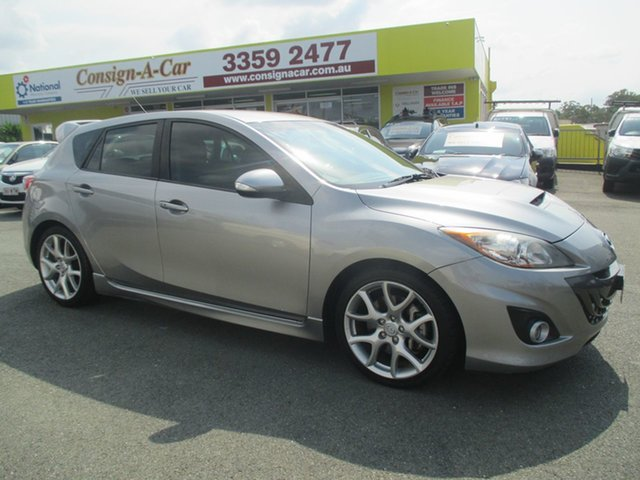 Used Mazda 3 BL1031 MPS Luxury, 2010 Mazda 3 BL1031 MPS Luxury Silver 6 Speed Manual Hatchback