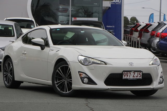 Used Toyota 86 ZN6 GTS, 2015 Toyota 86 ZN6 GTS White 6 Speed Sports Automatic Coupe