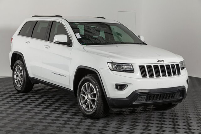Used Jeep Grand Cherokee WK MY15 Laredo, 2016 Jeep Grand Cherokee WK MY15 Laredo White 8 speed Automatic Wagon