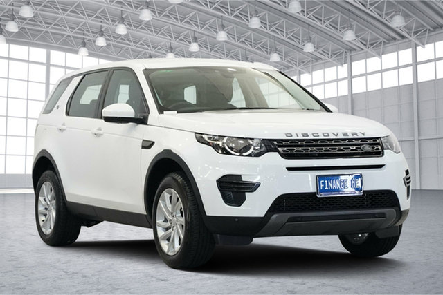 Used Land Rover Discovery Sport L550 16.5MY Td4 SE, 2016 Land Rover Discovery Sport L550 16.5MY Td4 SE White 9 Speed Sports Automatic Wagon