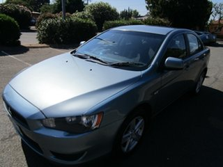 2009 Mitsubishi Lancer CJ MY09 ES 6 Speed CVT Auto Sequential Sedan.