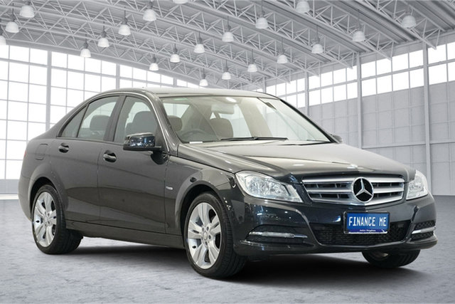 Used Mercedes-Benz C-Class W204 MY11 C200 CDI BlueEFFICIENCY 7G-Tronic +, 2011 Mercedes-Benz C-Class W204 MY11 C200 CDI BlueEFFICIENCY 7G-Tronic + Black 7 Speed