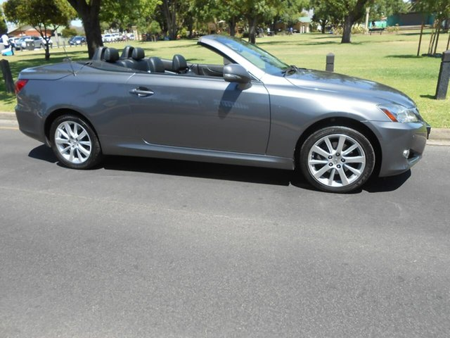 Used Lexus IS GSE20R MY10 IS250 C Sports Luxury, 2012 Lexus IS GSE20R MY10 IS250 C Sports Luxury Grey 6 Speed Sports Automatic Convertible