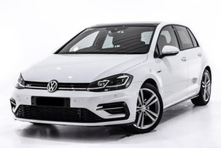 2018 Volkswagen Golf 7.5 MY18 110TDI DSG Highline White 7 Speed Sports Automatic Dual Clutch.