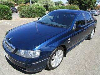 2003 Ford Fairmont BA Ghia 4 Speed Auto Seq Sportshift Sedan.