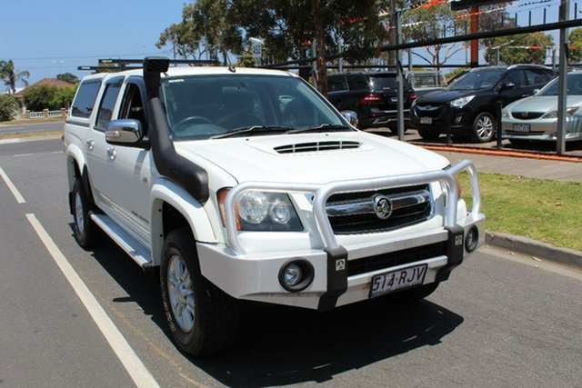 Used Holden Colorado RC MY10 LT-R (4x4), 2010 Holden Colorado RC MY10 LT-R (4x4) White 5 Speed Manual Crew Cab Pickup