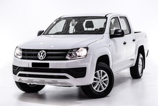 2019 Volkswagen Amarok 2H MY19 TDI400 4MOT Core White 6 Speed Manual Utility.