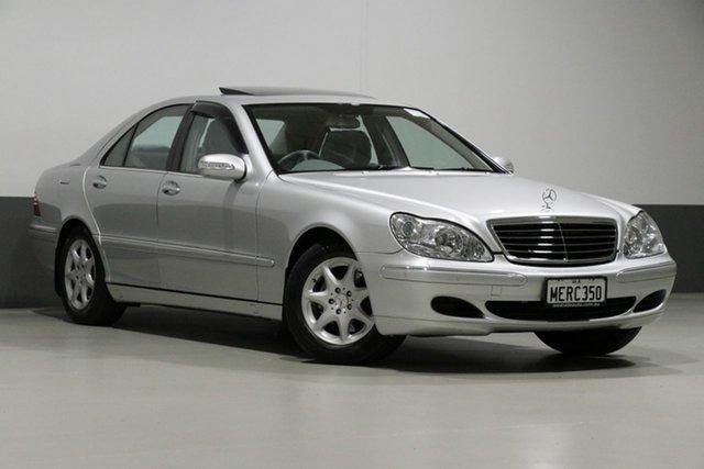 Used Mercedes-Benz S350 W220 , 2004 Mercedes-Benz S350 W220 Silver 5 Speed Auto Touchshift Sedan