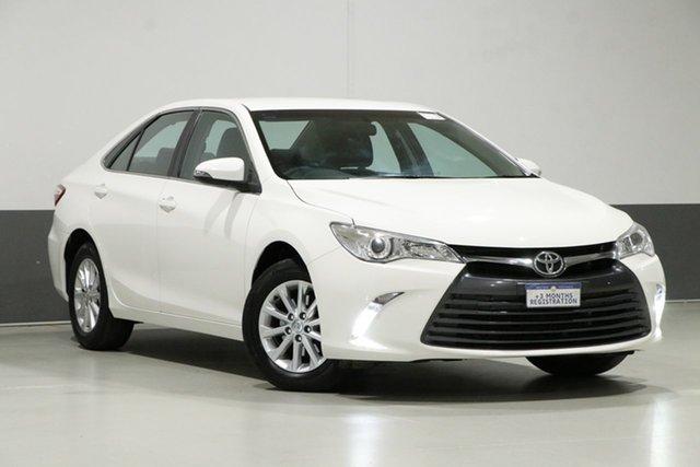 Used Toyota Camry ASV50R MY16 Altise, 2017 Toyota Camry ASV50R MY16 Altise White 6 Speed Automatic Sedan