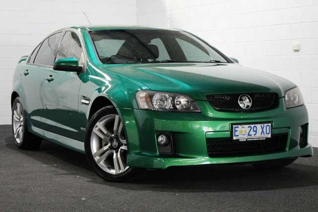 Used Holden Commodore VE II SV6, 2010 Holden Commodore VE II SV6 Green 6 Speed Manual Sedan