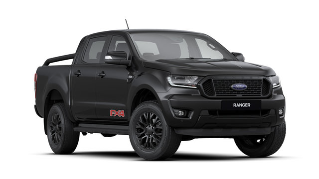 New Ford Ranger PX MkIII 2020.25MY , 2020 Ford Ranger PX MkIII 2020.25MY FX4 Limited Edition Shadow Black 6 Speed Automatic Utility