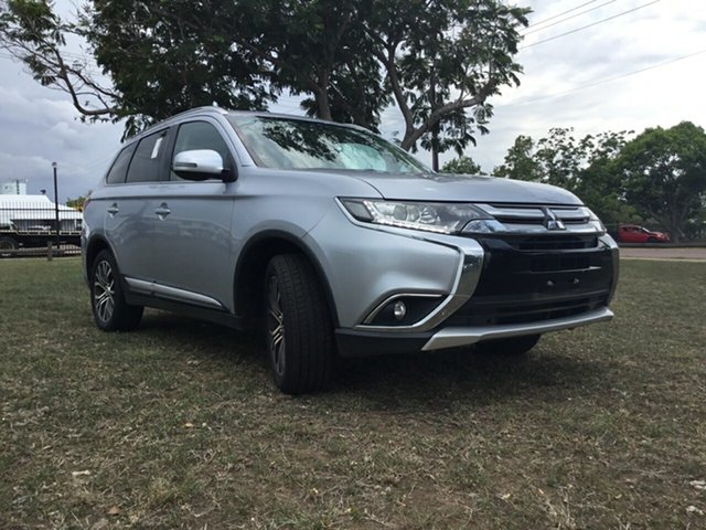 Used Mitsubishi Outlander ZK MY17 LS (4x4), 2017 Mitsubishi Outlander ZK MY17 LS (4x4) Silver Continuous Variable Wagon