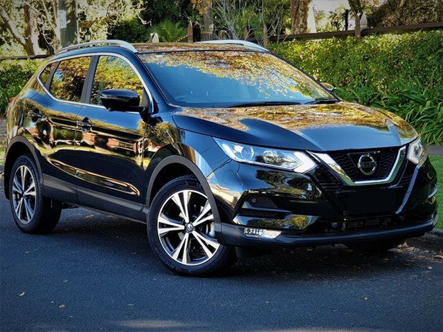 New Nissan Qashqai J11 Series 2 ST-L X-tronic, 2019 Nissan Qashqai J11 Series 2 ST-L X-tronic Pearl Black 1 Speed Constant Variable Wagon