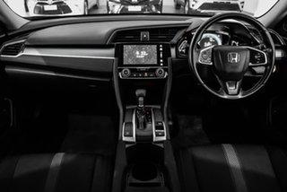 2016 Honda Civic 10th Gen MY16 VTi-S Maroon 1 Speed Constant Variable Sedan.