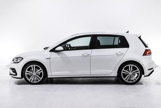 2018 Volkswagen Golf 7.5 MY18 110TDI DSG Highline White 7 Speed Sports Automatic Dual Clutch