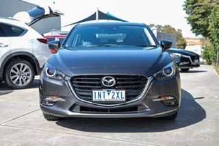 2018 Mazda 3 BN5438 SP25 SKYACTIV-Drive GT Grey 6 Speed Sports Automatic Hatchback