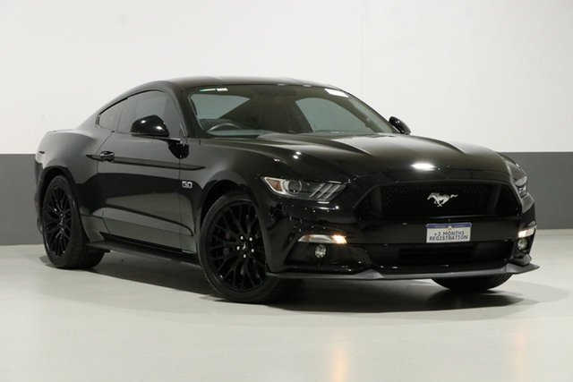 Used Ford Mustang FM MY17 Fastback GT 5.0 V8, 2017 Ford Mustang FM MY17 Fastback GT 5.0 V8 Black 6 Speed Automatic Coupe