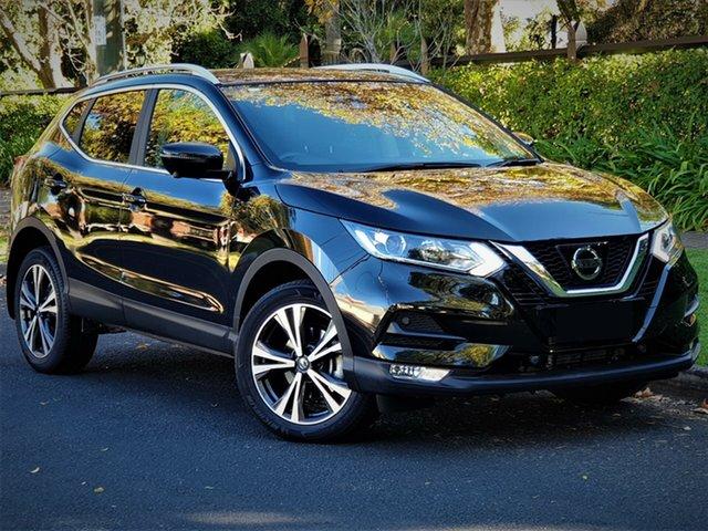 New Nissan Qashqai J11 Series 2 ST-L X-tronic, 2019 Nissan Qashqai J11 Series 2 ST-L X-tronic Pearl Black 1 Speed Wagon