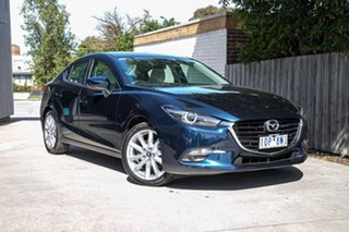 2018 Mazda 3 BN5238 SP25 SKYACTIV-Drive GT Blue 6 Speed Sports Automatic Sedan.