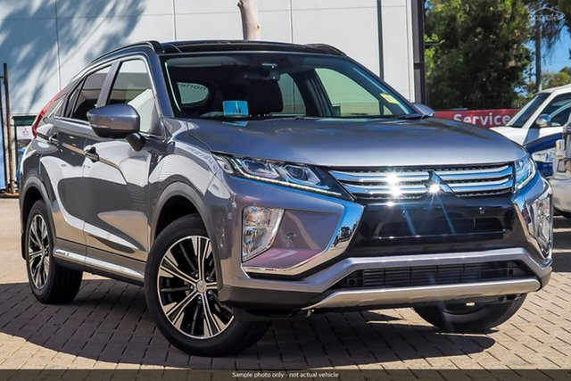 Demo Mitsubishi Eclipse Cross YA MY20 Exceed 2WD, 2019 Mitsubishi Eclipse Cross YA MY20 Exceed 2WD Titanium 8 Speed Constant Variable Wagon