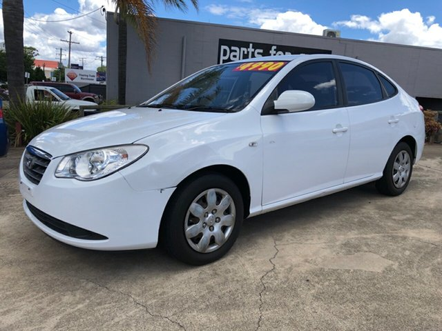 Used Hyundai Elantra HD MY10 SX, 2010 Hyundai Elantra HD MY10 SX 5 Speed Manual Sedan