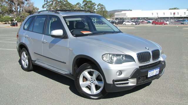 Used BMW X5 E70 d Steptronic Executive, 2008 BMW X5 E70 d Steptronic Executive Silver 6 Speed Sports Automatic Wagon