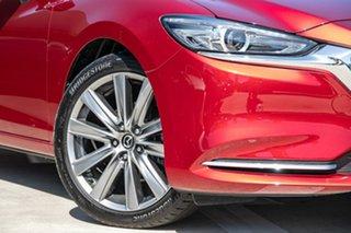 2018 Mazda 6 GL1032 GT SKYACTIV-Drive Red 6 Speed Sports Automatic Wagon.