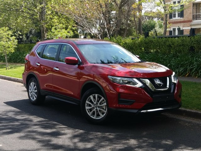 Demo Nissan X-Trail T32 Series II ST X-tronic 2WD, 2019 Nissan X-Trail T32 Series II ST X-tronic 2WD Red 7 Speed Constant Variable Wagon