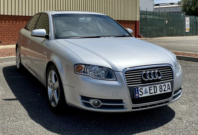 Used Audi A4 B6 MY04.5 Multitronic, 2005 Audi A4 B6 MY04.5 Multitronic Silver 1 Speed Constant Variable Sedan