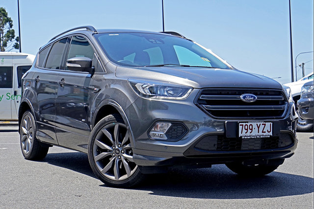 Used Ford Escape ZG 2018.75MY ST-Line AWD, 2018 Ford Escape ZG 2018.75MY ST-Line AWD Magnetic 6 Speed Sports Automatic Wagon