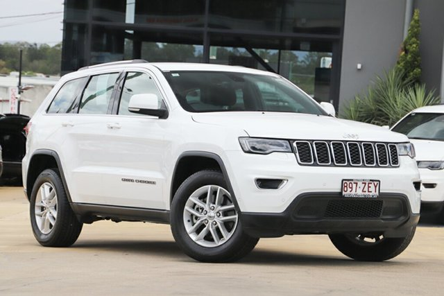 Used Jeep Grand Cherokee WK MY19 Laredo, 2018 Jeep Grand Cherokee WK MY19 Laredo Bright White 8 Speed Sports Automatic Wagon