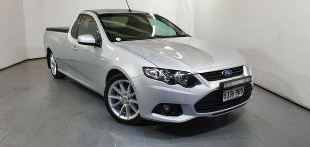 Used Ford Falcon FG MkII XR6 Ute Super Cab, 2013 Ford Falcon FG MkII XR6 Ute Super Cab Silver 6 Speed Sports Automatic Utility