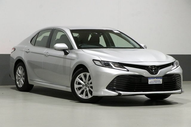 Used Toyota Camry ASV70R Ascent, 2018 Toyota Camry ASV70R Ascent Silver 6 Speed Automatic Sedan