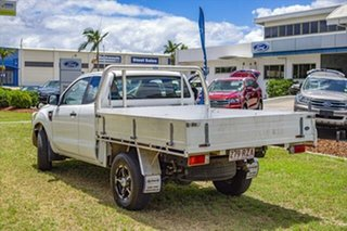2011 Ford Ranger PX XL Super Cab White 6 Speed Manual Cab Chassis