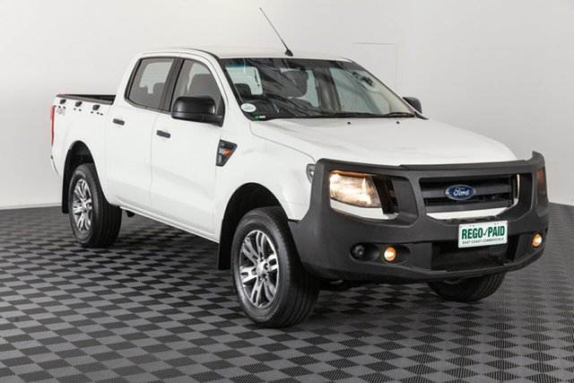 Used Ford Ranger PX XL Double Cab, 2013 Ford Ranger PX XL Double Cab White 6 speed Manual Utility