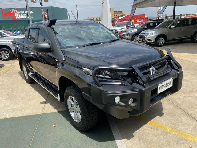 Demo Mitsubishi Triton MR MY19 GLX+ Double Cab, 2019 Mitsubishi Triton MR MY19 GLX+ Double Cab Black 6 Speed Sports Automatic Utility