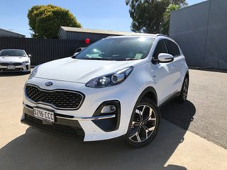 2019 Kia Sportage QL MY19 SLi AWD Clear White 8 Speed Sports Automatic Wagon.