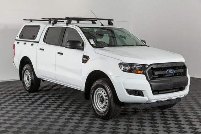 Used Ford Ranger PX MkII XL Double Cab 4x2 Hi-Rider, 2017 Ford Ranger PX MkII XL Double Cab 4x2 Hi-Rider White 6 speed Automatic Utility