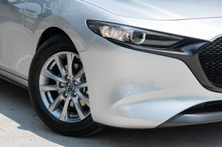 2019 Mazda 3 BP2H7A G20 SKYACTIV-Drive Pure Sonic Silver 6 Speed Sports Automatic Hatchback.