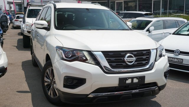 Used Nissan Pathfinder R52 Series III MY19 ST X-tronic 4WD, 2018 Nissan Pathfinder R52 Series III MY19 ST X-tronic 4WD White 1 Speed Constant Variable Wagon