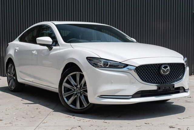New Mazda 6 GL1033 Atenza SKYACTIV-Drive, 2019 Mazda 6 GL1033 Atenza SKYACTIV-Drive White Pearl 6 Speed Sports Automatic Sedan