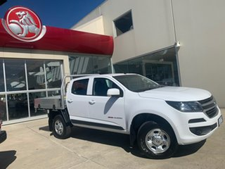 2019 Holden Colorado RG MY20 LS Pickup Crew Cab Summit White 6 Speed Manual Utility.